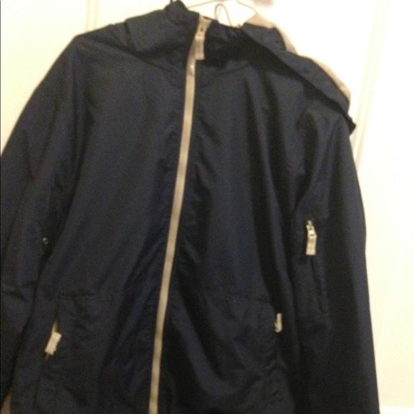 Eddie Bauer Jackets & Blazers - Eddie Bauer size large navy lined windbreaker